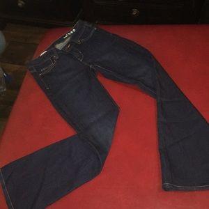 Women's Gap 1969 jeans 25s Perfect boot dark wash!